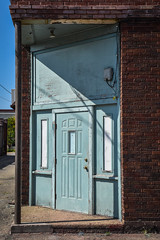 Corner Door (tim.perdue) Tags: newark ohio small town downtown square city urban decay street alley building licking county courthouse nikon d5600 nikkor 18140mm detail sign store storefront shop