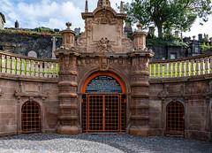 Glasgow Necroplis - entrance (johnm2205) Tags: restingplace necropolis cemetry dead architecture graves religious tombs building glasgow