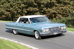 Chevrolet Impala (1963) (Roger Wasley) Tags: 138yhn chevrolet impala 1963 prescott speed hillclimb classic car vehicle gloucestershire
