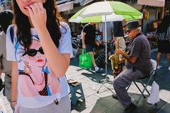 Paris is jazz (amira_a) Tags: jazz israel jerusalem street streetmusic streetphotography candid x100s fujifilm