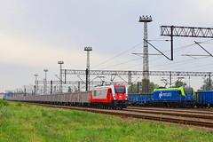 E6ACTad-017 & ET25-001 (Andrzej Szafoni) Tags: electric e6actad e6actad017 newag dragon poland polska pkp cargo natrix et25 et25001 locomotive train railroad