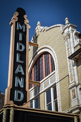 MIDLAND (tim.perdue) Tags: newark ohio small town downtown square city urban decay street alley building licking county courthouse nikon d5600 nikkor 18140mm detail sign store storefront shop