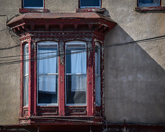 Bay Window (tim.perdue) Tags: newark ohio small town downtown square city urban decay street alley building licking county courthouse nikon d5600 nikkor 18140mm detail sign store storefront shop