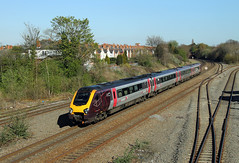220007 Tyseley (CD Sansome) Tags: tyseley station train trains birmingham cross country axc arriva voyager 220 220007