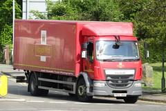 Royal Mail PE15 HKA At Welshpool (Joshhowells27) Tags: lorry truck daf lf daflf shrewsbury royalmail pe15hka