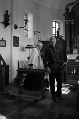 040 (boeddhaken) Tags: backintime timetravel 1900 1900s blackwhite bw retro retrostyle museum church police cop