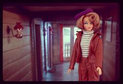 Leather Look (criscrash13) Tags: doll fashiondoll mod sixties retro vintage poupée virgin archer studio