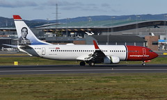 Norwegian EI-FVZ, OSL ENGM Gardermoen (Inger Bjørndal Foss) Tags: eifvz norwegian boeing 737 osl engm gardermoen