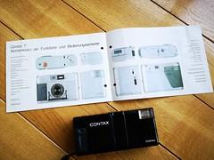 Contax T 35mm film rangefinder camera Carl Zeiss lens (12) (nefotografas) Tags: contaxt rangefinderfilmcamera 35mmfilm carlzeisslens sonnar38mm