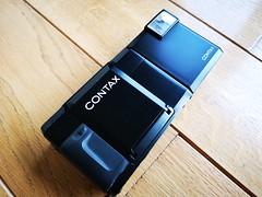 Contax T 35mm film rangefinder camera Carl Zeiss lens (2) (nefotografas) Tags: contaxt rangefinderfilmcamera 35mmfilm carlzeisslens sonnar38mm