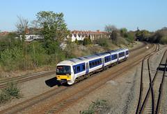 165015 Tyseley (CD Sansome) Tags: tyseley station train trains birmingham arriva chiltern railways 165 165015 turbo