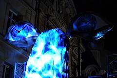 8 - Paris - Nuit Blanche et entours - Parade, Shana Moulton - Feed the soul (melina1965) Tags: octobre october 2019 îledefrance paris panasonic lumix dmctz57 nuitblanche 4earrondissement 75004 lumière light nuit night sculpture sculptures