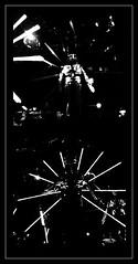 13 - Paris - Nuit Blanche et entours - Parade, Bille Vorn - Copacabana machine sex (melina1965) Tags: octobre october 2019 îledefrance paris panasonic lumix dmctz57 nuitblanche mosaïque mosaïques mosaic mosaics collages collage noiretblanc blackandwhite bw 4earrondissement 75004 lumière light nuit night sculpture sculptures
