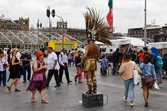 Mexico city street life (DOT finger) Tags: mexico zocalo mexicocity