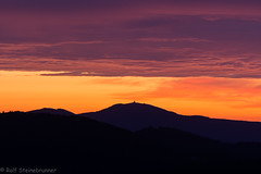 20190922-DSC_6751 (rolfsteinebrunner) Tags: sonnenaufgang sonne morgens wolken himmel vogesen ellsässerbelchen belchen ballondalsace grandballon grosserbelchen nikon d7200 radarstation radar