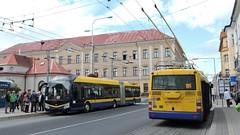 2019-10-01 Teplice Trolleybuses Nr.221 + 501 (beranekp) Tags: czech teplice teplitz trolleybus trolebus trolejbus trolley obus filobus tradbus škoda 30tr 33tr 501 221 arriva