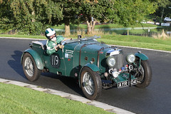 Aston Martin Mk II (1934) (Roger Wasley) Tags: 119 astonmartin mk ii 2 1934 ayr804 prescott speed hillclimb classic car vehicle gloucestershire