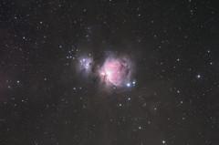 Orion Nebula (20 minutes) (AstroBackyard) Tags: astrophotography orion nebula m42 running man stars stargazing night sky deep telescope redcat 51 star adventurer pro camera mount tracker long exposure space astronomy