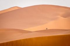 Sand dunes couple (graham2034) Tags: sahara desert sand dunes morocco