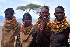 Kenya- Turkana people (venturidonatella) Tags: kenya kenia africa turkana people persone gentes gente portraits ritratti donne women donna woman nikon nikond500 d500 color colori volti faces faccia volto sguardo look looks sguardi turkanalake turkanapeople turkanatribe tribe tribù minoranza minorities loyangalani loyengalani