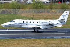 D-CSCB_01 (GH@BHD) Tags: dcscb cessna c560xl citationexcel citationexcelxls silvercloudair c560 citation excel bhd egac belfastcityairport bizjet corporate executive aircraft aviation