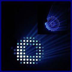 6 - Paris - Nuit Blanche et entours - glise Saint-Merri, Guillaume Marmin, Glory Moon - Moment (melina1965) Tags: octobre october 2019 îledefrance paris panasonic lumix dmctz57 nuitblanche mosaïque mosaïques mosaic mosaics collages collage 4earrondissement 75004 lumière light