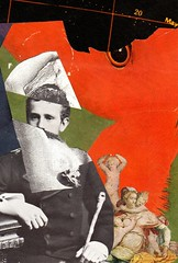 In Red Rumination (owlwise12) Tags: collage photomontage surreal paper handmade psyche dreams nightmares collageaday