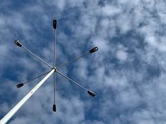 Lights in the sky (GBaker63) Tags: light sky cloud toronto iphone apple iphonexr