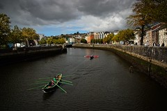 Currachs on the River Lee (Kevin_Barrett_) Tags: ireland cork river city riverlee currach boat