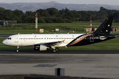 Titan Airways A320 G-POWK at Manchester Airport MAN/EGCC (dan89876) Tags: titan airways airbus a320 a320200 a320232 gpowk manchester international airport takeoff runway 23r departure man egcc
