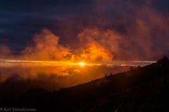 20190923-DSC_6787 (rolfsteinebrunner) Tags: sonne sonnenuntergang nikon d7200 wolken nebel schwarzwald belchen oberrheintal vogesen rhein