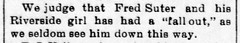 1897 - Fred Suter Jr courtship fall out - Enquirer - 9 Apr 1897