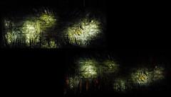 12 - Paris - Nuit Blanche et entours - Eglise Saint-Eustache, Intérieur - Evi Keller, Performance-Matière-Lumière, 2019 - Moments, Détails (melina1965) Tags: octobre october 2019 îledefrance paris panasonic lumix dmctz57 nuitblanche mosaïque mosaïques mosaic mosaics collages collage 1erarrondissement 75001 lumière light sculpture sculptures église églises church churches