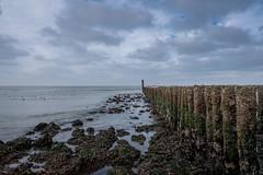 Domburg - looking at the sea (And Hei) Tags: domburg sky beach sea nordzee northsea nederland niederlande holland waves