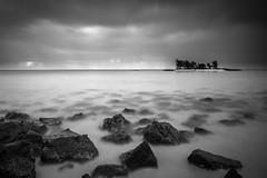 (h)our-glass (rol-and) Tags: africa hourglass mauritius colour landscape general full sony east loxia2821 day overcast loxia nd longexposure sea fullframe sun blue indian ocean zeiss bright lava e island black seascape sunlight coast bw white