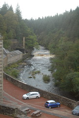 Photo of River Clyde at New Lanark