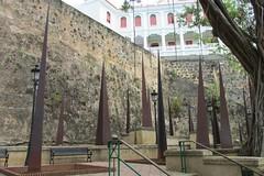 San Juan Public Art (Stabbur's Master) Tags: sanjuan oldsanjuan publicart outdoorart outdoorsculpture sanjuanpublicart puertoricopublicart cruising cruise carnivalcruiseline caribbeancruising caribbeansea caribbeanisland citywalls oldsanjuancitywalls