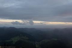 20190923-DSC_6765 (rolfsteinebrunner) Tags: sonne sonnenuntergang nikon d7200 wolken nebel schwarzwald belchen oberrheintal vogesen rhein neuenweg kleineswiesental
