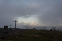 20190923-DSC_6759 (rolfsteinebrunner) Tags: sonne sonnenuntergang nikon d7200 wolken nebel schwarzwald belchen oberrheintal vogesen rhein belchengipfel gipfelkreuz