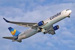 Boeing 767-330(ER) - D-ABUI - HAJ - 06.10.2019 (4) (Matthias Schichta) Tags: haj eddv hannoverlangenhagen planespotting flugzeugbilder condor boeing b767300 dabui