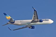 Boeing 767-330(ER) - D-ABUI - HAJ - 06.10.2019 (6) (Matthias Schichta) Tags: haj eddv hannoverlangenhagen planespotting flugzeugbilder condor boeing b767300 dabui