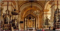 404- INTERIOR DE LA BASÍLICA MENOR DE WADOWICE - POLONIA - (--MARCO POLO--) Tags: ciudades rincones iglesias templos basílicas
