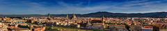 Firenze panoramica da Piazzale Michelangelo (2) / Panoramic Florence from Piazzale Michelangelo (2) (Eugenio GV Costa) Tags: approvato firenze toscana panorama cielo nuvole città florence tuscany sky clouds city
