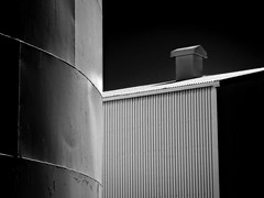 Industry Imagery (Steve Brewer Photos) Tags: iceland blackandwhite monochrome