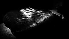 Paris - Nuit Blanche et entours - Cloître des Billettes, Valérie Giovanni, Voir la voix - Moment (melina1965) Tags: octobre october 2019 îledefrance paris panasonic lumix dmctz57 nuitblanche noiretblanc blackandwhite bw 4earrondissement 75004 lumière light église églises church churches