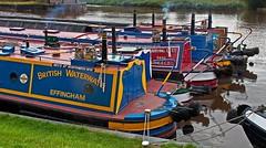 narrowboats (midcheshireman) Tags: boat narrowboat canal river weaver cheshire