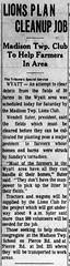 1965 - Wendell Suter Lions clean up tornado damage - South_Bend_Tribune_Wed__Apr_14__1965_