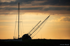 Boats at sunset (Neil Adams Photography (Wirral)) Tags: boats sunset angle colourful
