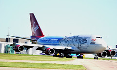 "G-VLIP BOEING 747-400. ""STAR WARS"" LIVERY (douglasbuick) Tags: air airside airliner aircraft manchesterairport gvlip starwars livery ringwayflight virginatlantic"