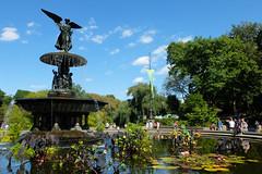 A Bethesda September (ho_hokus) Tags: 2019 bethesdafountain centralpark fujix20 fujifilmx20 manhattan nyc newyork newyorkcity fountain